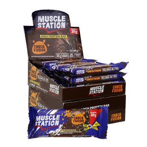Musclestation Chocofusion Protein Bar 12 Adet 65 Gr