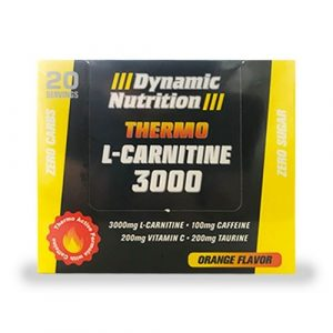 Dynamic Nutrition Thermo L-Carnitine 3000 20 Ampul